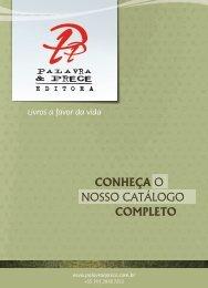 Catálogo - Palavra & Prece Editora