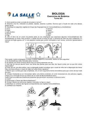 BIOLOGIA - Portal La Salle