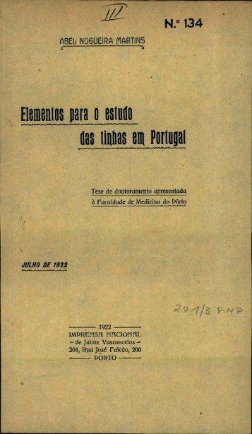 las tinhas en Portugal