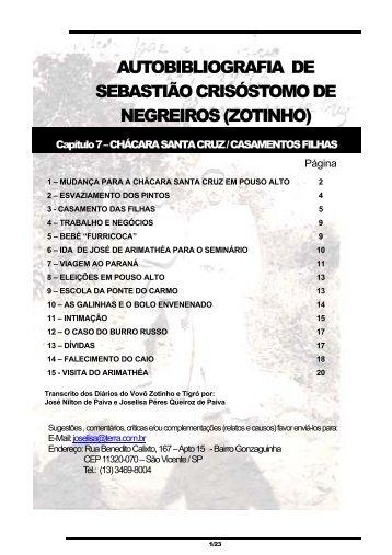 Chácara Santa Cruz - Família Espeschit