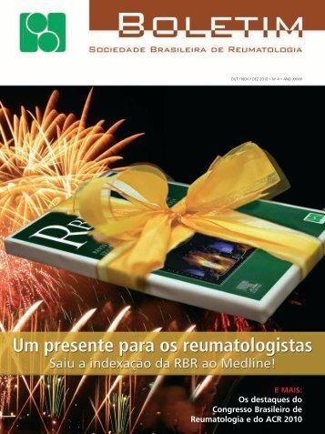 Nov/Dez - Sociedade Brasileira de Reumatologia
