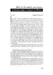 Hipólito Villarroel: una mirada ilustrada sobre la Ciudad