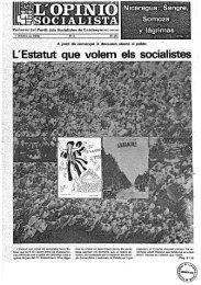 L'Estatut que volem els socialistes - Atipus