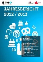 SCE Jahresbericht 2012/13