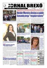 Neider Moreira destaca saúde; - Jornal Brexó