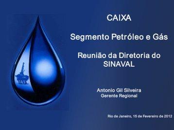 Apresentação Caixa - Sinaval