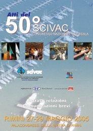 50° Congresso Nazionale Multisala SCIVAC Rimini, 27-29 Maggio ...