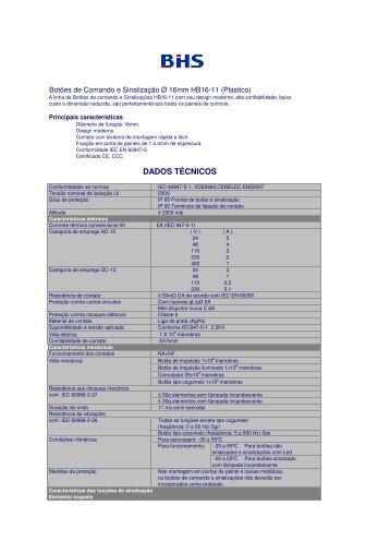 catalogo HB16-11.pdf - BHS
