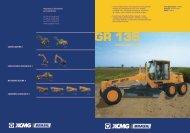 Catálogo Motoniveladora GR 135 - ELX Equipamentos