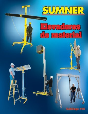 Elevadores de material - Sumner Manufacturing Company Inc.