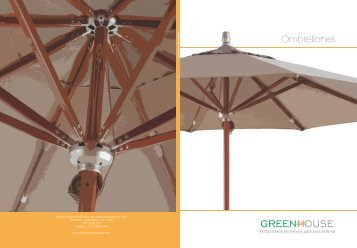 Ombrellones - Green House Móveis
