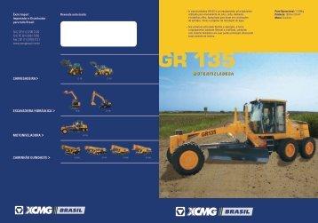 Catalogo Motoniveladora GR135 - Vedapac.com.br