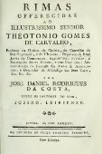 Rimas offerecidas ao illustrissimo senhor Theotonio Gomes de ... - Page 5