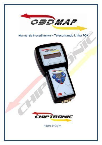 Manual de Procedimento – Telecomando Linha FOX - obdmap