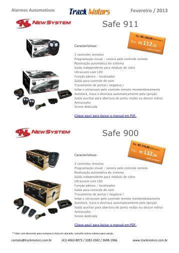 Alarmes Automotivos - Track Motors