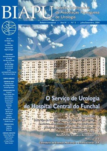 O Serviço de Urologia do Hospital Central do Funchal - Associação ...