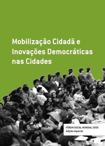 Mobilização Cidadã e Inovações Democráticas nas Cidades - DHnet
