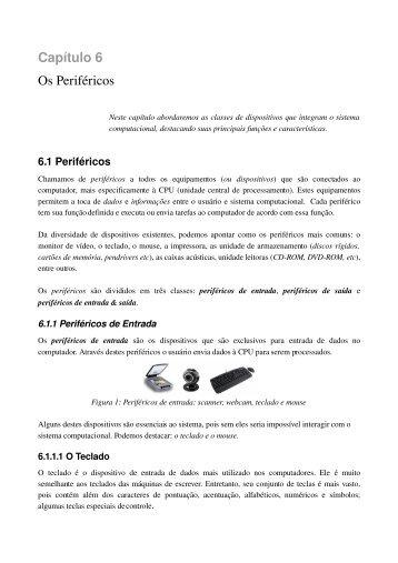 Capítulo 6 Os Periféricos - cchsa