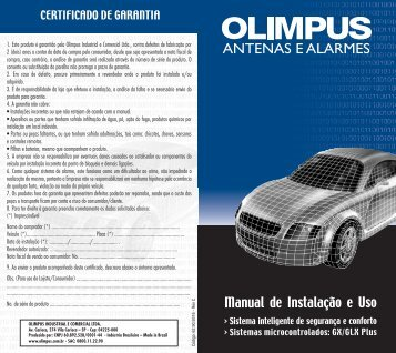Manual Olimpus-Plus GLX GX