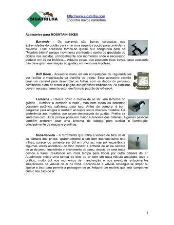 http://www.sigatrilha.com Encontre novos caminhos 1