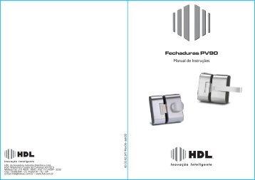 Fechaduras PV90 - HDL