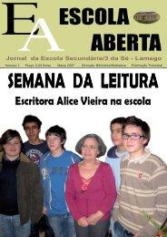 Março de 2007 - ESCOLA ABERTA