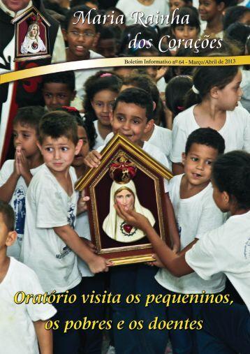 Oratório visita os pequeninos, os pobres e os doentes - Arautos do ...