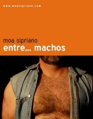 Entre... Machos - Moa Sipriano