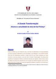 A Grande Transformação: - Adelino Torres