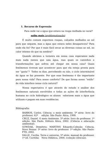 problematização - Secretaria de Estado da Educação - Estado do ...