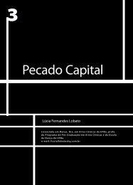 Pecado Capital - Faculdade Social