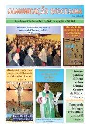 COMUNICAÇÃO DIOCESANA – Setembro / 2011 - Diocese de Erexim