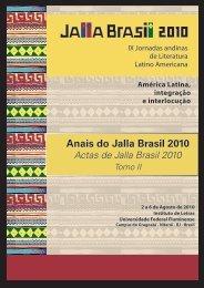 Anais do Jalla Brasil 2010 - Pró-Reitoria de Pesquisa, Pós ...