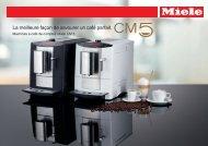 Machine à café de comptoir - Miele