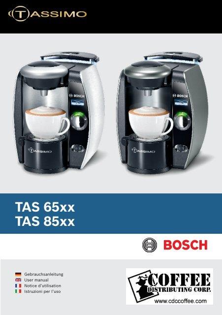 T-Disc/'s ohne Auslauf Bosch Tassimo Stanzvorrichtung f