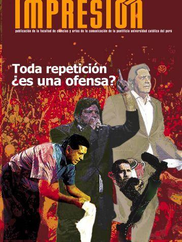 ¿es una ofensa? - Pontificia Universidad Católica del Perú
