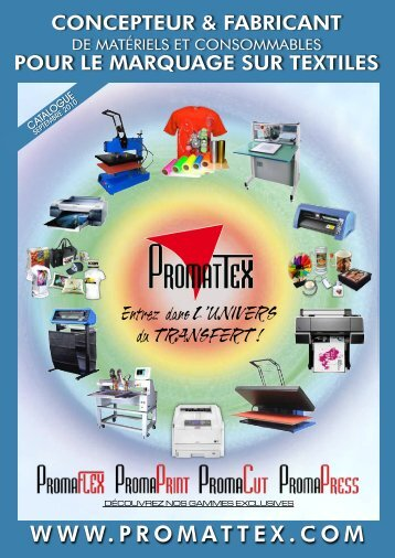 Entrez dans L'UNIVERS du TRANSFERT ! - Promattex