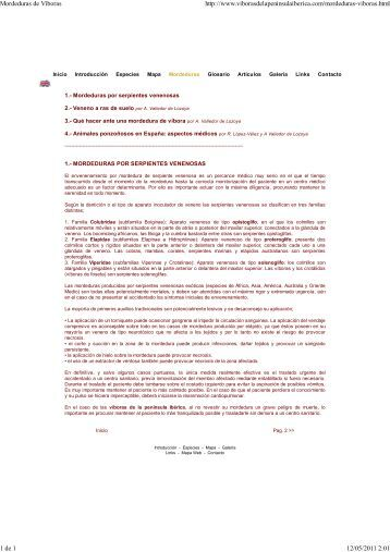 Mordeduras de Viboras.pdf - Revilla de Pomar
