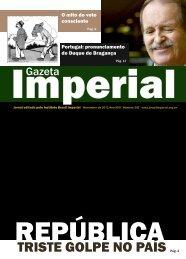 TRISTE GOLPE NO PAÍS Pág. 3 - Brasil Imperial
