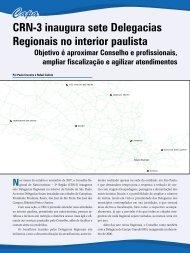 CRN-3 inaugura sete Delegacias Regionais no interior - Conselho ...