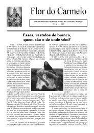Flor do Carmelo Nº 26 - Ordem dos Padres Carmelitas Descalços