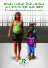 núcleo de assistência jurídica aos presos e seus familiares