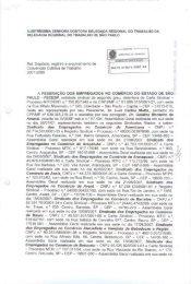Protocolo de Registro da Convenção Coletiva ... - Sincodiv SP