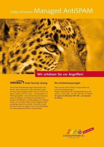 Wir schützen Sie vor Angriffen! - Zubler & Partner AG