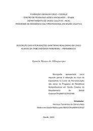 monografia início - Centro de Pesquisas Aggeu Magalhães - Fiocruz