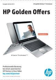 HP Golden Offers Herbst 2012 - achermann ict-services ag