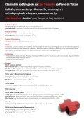 I Seminário da Delegação da - Cruz Vermelha Portuguesa - Page 2