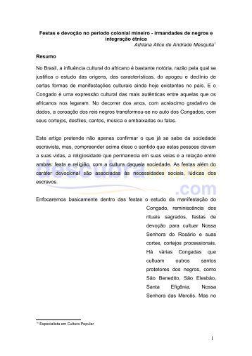 festas e devoção no período colonial - Descubra Minas