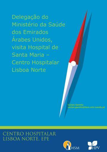 Delegação do Ministério da Saúde dos Emirados Árabes Unidos ...