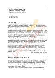 Obra completa: Esaú e Jacó de Machado de Assis